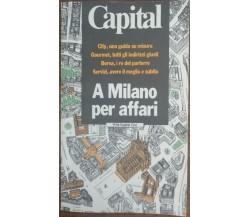 A Milano per affari - AA.VV. - Rizzoli,1987 - A