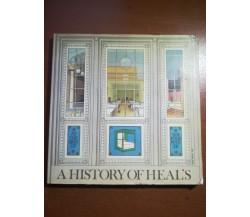 A history of Heal's - Susanna Goodden - Heal & Son - 1984  - M