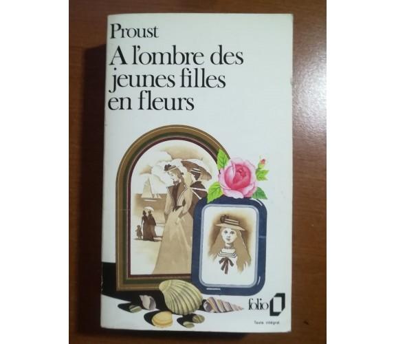 A l'ombre des jeunes filles en fleurs - Proust - Folio - 1985  - M