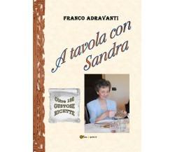 A tavola con Sandra di Franco Adravanti,  2021,  Youcanprint