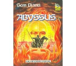 ABYSSUS FANTASCIENZA/ FANTASY SEM BIANTI LUIGI REVERDITO EDITORI 1990