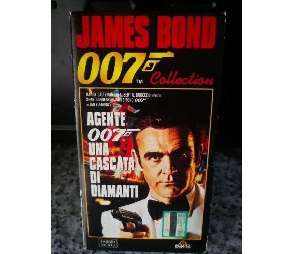 AGENTE 007 UNA CASCATA DI DIAMANTI -vhs -1996 - Univideo -F