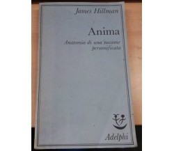 ANIMA - JAMES HILLMAN - ADELPHI - 1989 - M