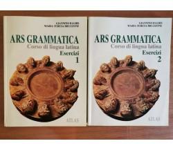 ARS grammatica esercizi 1 e 2 - Balbis/Bruzzone - Atlas - 1999 - AR