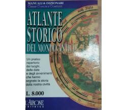 ATLANTE STORICO DEL MONDO ANTICO-Anna PAOLA Chetoni - L'AIRONE - 1995 - M