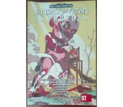 ATTACK ON TITAN ANTHOLOGY - Hajime Isayama - Kodansha Comics,2016 - A