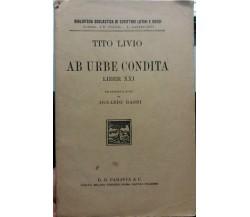 Ab urbe condita - Tito Livio - G.B. Paravia & C. - 1931 - G
