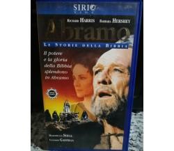 Abramo , le storie della Bibbia , Vhs - 2000 -Sirio Vide -F
