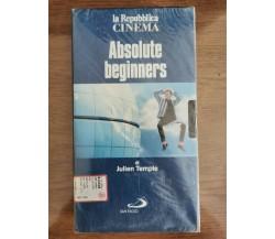 Absolute Beginners - J. Temple - La Repubblica - 1986 -  VHS - AR