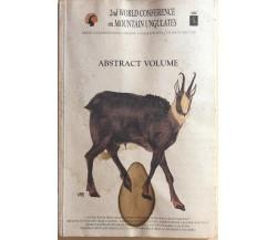 Abstract volume di Aa.vv., 1997, Ee.vv.