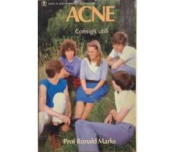 Acne, consigli utili di Prof. Ronald Marks, 1988, Lederle Laboratories Division