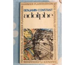 Adolphe di Benjamin Constant,  1965,  Garnier Flammarion- SM