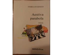 Aestiva parabola - Andrea Invernizzi,  2006,  Gruppo Edicom