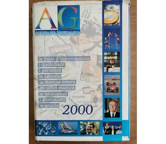 Agenda del giornalista - AA. VV. - La Stampa - 1999 - AR