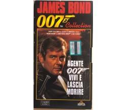 Agente 007 - Vivi e lascia morire VHS di Guy Hamilton, 1973, Fabbri Video