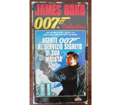 Agente 007 al servizio di sua maestà - Fabbri video - VHS - A