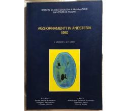 Aggiornamento anestesia 1990 di E. Vincenti E G.p. Giron,  1990,  Istituto Di An