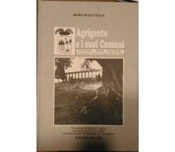 Agrigento e i suoi Comuni - Storia, Arte, Notizie con foto d'epoca, planimetrie.