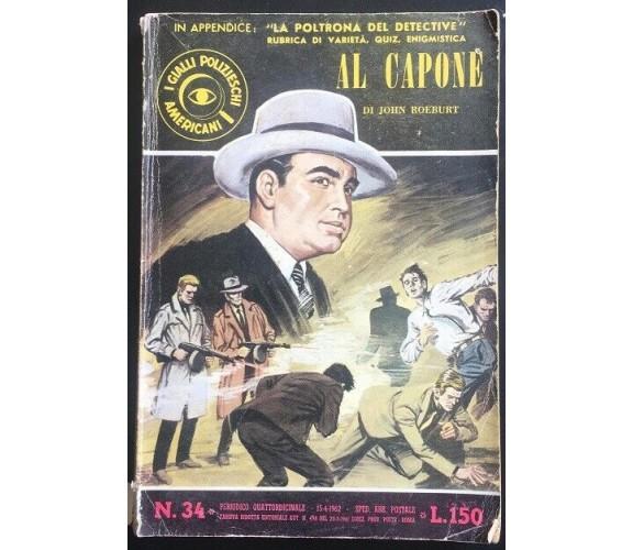 Al Capone - John Roeburt,  Spada - P