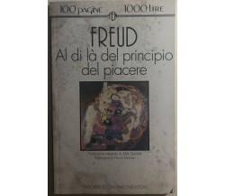 Al di là del principio del piacere di Sigmund Freud,  1974,  Newton Compton Edit