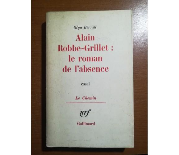 Alain Robbe-Grillet - Olga Bernal - Gallimard - 1964 - M