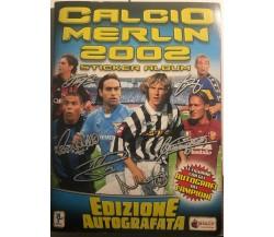 Album Calcio Merlin 2002 NON completo di Aa.vv.,  2002,  Merlin Collections