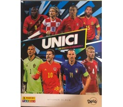 Album figurine Unici di Decò semi completo,  2021,  Panini