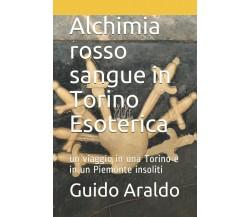 Alchimia rosso sangue in Torino Esoterica: Un viaggio in una Torino e in un Piem