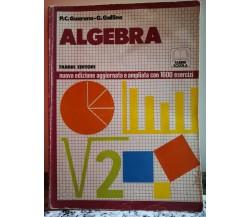 Algebra di P.c. Guarona - G. Gallino,  1984,  Fabbri-F