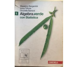 Algebra verde con statistica di AA.VV., 2011, Zanichelli