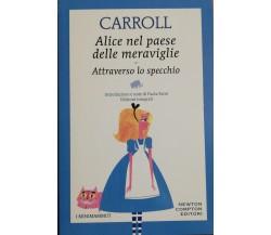 Alice nel paese delle meraviglie di Lewis Carroll,  2019, Newton Compton Editori