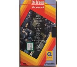 Alla scoperta di città del mondo VHS di Deagostini, 1997