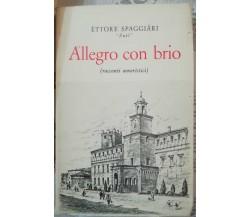 Allegro con brio - Èttore Spaggiàri -Stem-Mucchi, 1977  - S