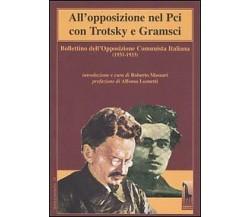 All'opposizione nel Pci con Trotsky e Gramsci. Bollettino dell'Opposizione Comun