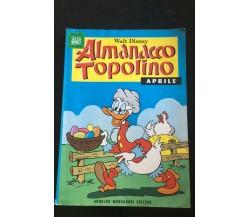 Almanacco Topolino Aprile 1971 - Walt Disney,  1971,  Arnoldo Mondadori - P