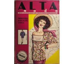 Alta moda primavera-estate 1991 di Aa.vv.,  1991,  Figure Di Anna Srl