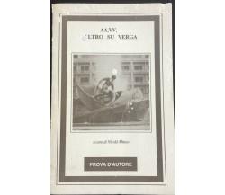 Altro su Verga- Autori Vari,  Prova D'Autore - P