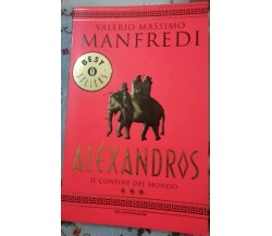 Aléxandros - Valerio Massimo Manfredi , 2002, Mondadori - S