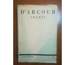 Amanti - D'Arcour - L'aristocratica - 1927 - M