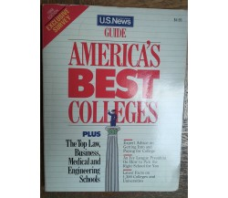 America's Best Colleges - AA.VV. - U.S. News & World Report,1988 - R