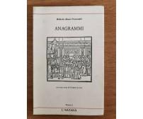 Anagrammi - R. R. Precerutti - L'arzanà - 1988 - AR