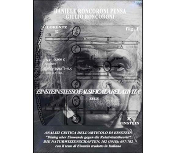 Analisi critica dell'articolo di Einstein,  di Daniele Roncoroni Pensa,  2015