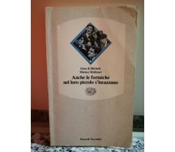Anche le formiche nel loro piccolo s'incazzano di A.a.v.v,  1991,  Einaudi-F