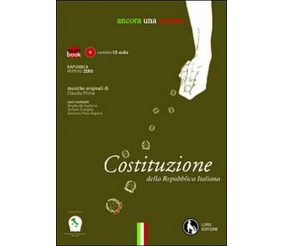 Ancora una semina. Costituzione della Repubblica Italiana