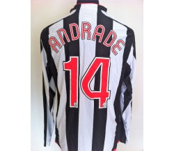 Andrade Juventus. Maglia preparata match issued 2007-2008