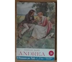 Andrea - Giorgio Sand - Salani,1923 - A