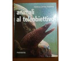 Animali al teleobiettivo - Isabella Lattes Coifmann - Paravia - 1968 - M