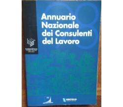 Annuario Nazionale dei consulenti del lavoro 1998 - Ipsoa - R