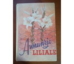 Annunzio Liliale - Alfredo M. Cavagna - Paoline - 1952 - M