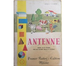 Antenne, guida allo studio per gli alunni della II Classe di Aa.vv., 1981, Franc